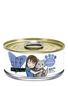 B.F.F. Tuna & Chicken Chuckles Recipe (in Aspic) - Canned Cat Food