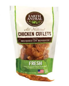 Earth Animal - No Hide Fresh Breath Chicken Cutlets