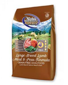 NutriSource Grain Free Large Breed Lamb Meal & Peas Formula - Dog Food