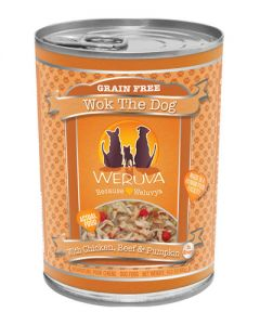 Weruva Wok The Dog Chicken & Beef Canned Dog Food