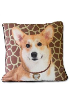 POPPA-ARTZEE - Pembroke Corgi Throw Pillow