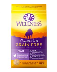 Wellness Complete Health Grain Free Adult Chicken Dry Dog Food