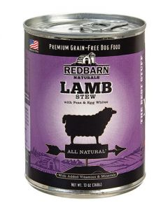 Redbarn Products Grain Free Lamb Stew Canned Dog Food