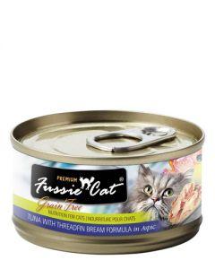 Fussie Cat - Premium Tuna with Threadfin Bream in Aspic Canned Cat Food