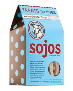 Sojos Bacon Cheddar Dog Treats