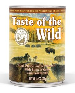 Taste of the Wild High Prairie Canine Formula with Gravy Canned Dog Food