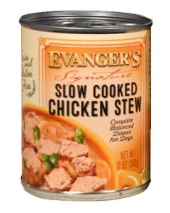Evangers Signature Series Slow Cooked Chicken Stew Canned Dog Food