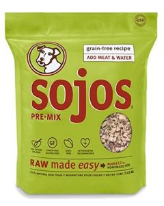 Sojos Grain Free Pre Mix Dog Food