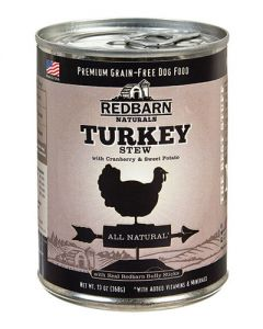 Redbarn Products Grain Free Turkey Stew Canned Dog Food