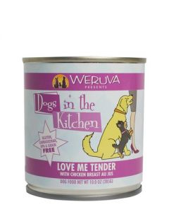 Weruva - Dogs in the Kitchen - Love Me Tender with Chicken Breast Au Jus