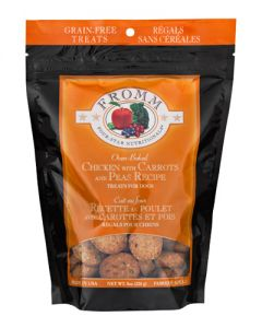 Fromm Family Foods Four Star Grain Free Chicken w/Carrot & Peas Dog Treats