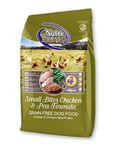 NutriSource - Grain Free Small Breed Chicken & Peas Formula - Dog Food