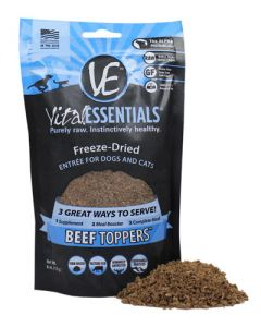 Vital Essentials® Freeze-Dried Raw Beef Toppers™ Grain Free Limited Ingredient