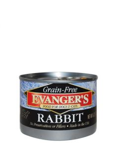 Evangers Grain Free Rabbit Canned Dog & Cat Food