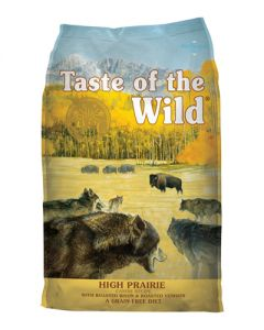 Taste of the Wild High Prairie with Roasted Bison & Roasted Venison Grain Free Dry Dog Food