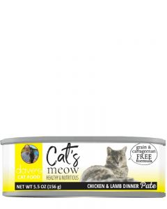Dave's Pet Food Cat's Meow Chicken with Lamb Canned Cat Food