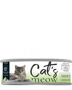 Dave's Pet Food Cat's Meow Farmyard Fowl Canned Cat Food