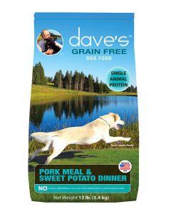 Dave's Pet Food Grain-Free Pork Meal & Sweet Potato Dry Dog Food