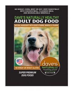 Dave's Pet Food Naturally Healthy Adult Dry Dog Food
