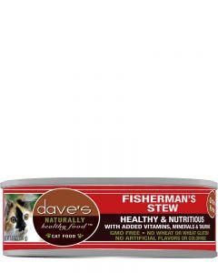Dave's Pet Food Naturally Healthy Grain-Free Fisherman's Stew Canned Cat Food