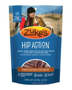 Zuke's Hip Action Peanut Butter Dog Treat