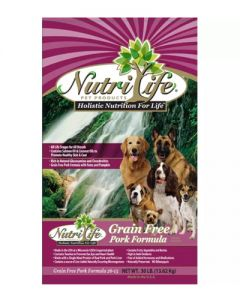 Nutri Life - Grain Free Pork Formula - Dog Food