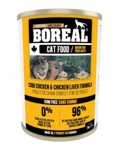 Boreal Cob Chicken & Chicken Liver Grain Free Canned Cat Food