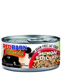 Redbarn Products Grain Free Salmon & Deliliah Canned Cat Food