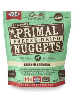 Primal Freeze Dried Chicken Nuggets for Dogs