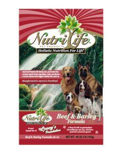 Nutri Life Beef & Barley Dog Food