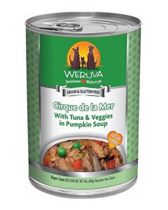 Weruva Cirque de la Mer Tuna Potatoes Peas & Carrots Canned Dog Food