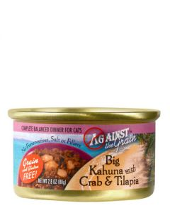 Against the Grain Big Kahuna w/Crab & Tilapia Dinner Canned Cat Food
