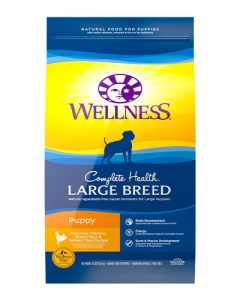Wellness Complete Health Large Breed Puppy Dry Dog Food