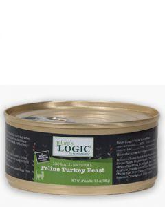 Nature's Logic Feline Turkey Feast Canned Food