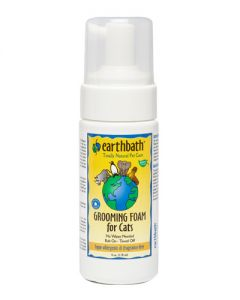 Earthbath Hypo-Allergenic & Fragrance Free Grooming Foam for Cats