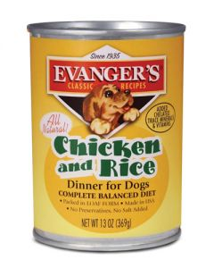 Evangers Classic Line Chicken & Rice Canned Dog Food