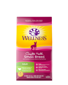 Wellness Complete Health Small Breed Turkey & Oatmeal Dog Food