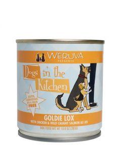 Weruva - Dogs in the Kitchen - Goldie Lox With Chicken & Wild Caught Salmon Au Jus