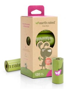 Earth Rated Biodegradable   Poop Bags [Lavender Scented]