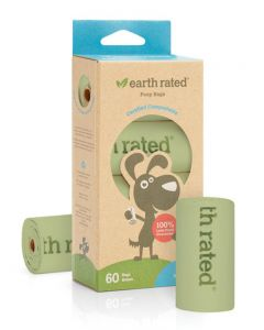 Earth Rated Compostable Poop Bags [Unscented]