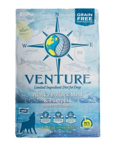 Earthborn Holistic Venture Alaska Pollock Meal & Pumpkin Dog Food