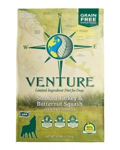 Earthborn Holistic Venture Turkey Meal & Butternut Squash Dog Food