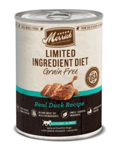 Merrick - Limited Ingredient Diet Grain Free Duck - Canned Dog Food