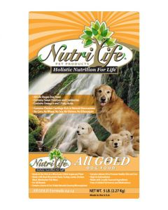 Nutri Life All Gold Holistic Dog Food