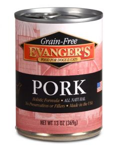 Evangers Grain Free Pork Canned Dog & Cat Food