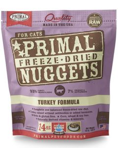 Primal Freeze Dried Turkey Nuggets for Cats