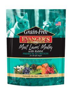 Evangers Grain Free Meat Lovers Medley W/Rabbit Cat Food