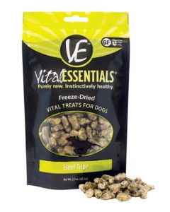 Vital Essentials® Freeze-Dried Beef Tripe Grain Free Limited Ingredient Dog Treats