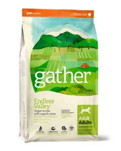GATHER - ENDLESS VALLEY Vegan Recipe for Adult Dogs