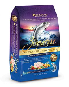 Zignature Wild Trout & Salmon Limited Ingredient Formula Dry Dog Food